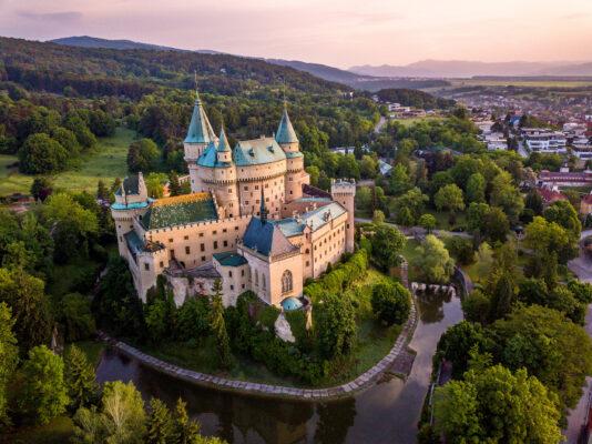 Slowakei Bojice Schloss Luft