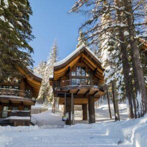 Ski-Fans aufgepasst: Übernachtet im genialen Winter-Chalet mitten auf der Piste