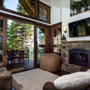 Snow Bear Chalet Innen