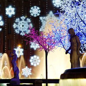 Spanien Barcelona Weihnachten