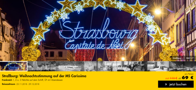 Straßburg mit dem Schiff
