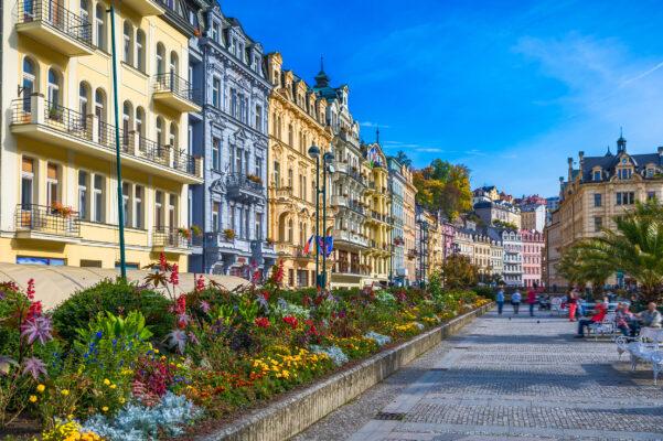 Tschechien Karlsbad Stadt