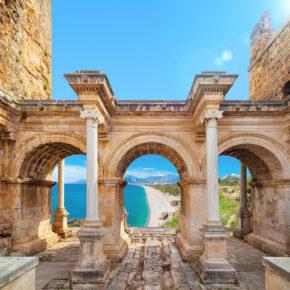 Türkei Antalya Hadrians Tor