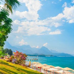 Family-Deal in die Türkei: 7 Tage im TOP 5* Strand-Resort mit All Inclusive, Flug, Transfer & Zug nur 162€