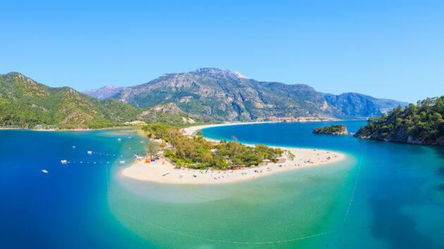 Türkei Oludeniz Blaue Lagune