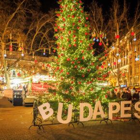Wochenendtrip: 3 Tage ins weihnachtliche Budapest im TOP 4* Hotel inkl. Flug nur 101€