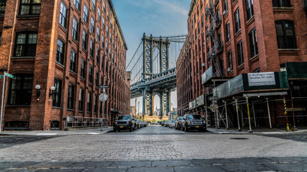USA New York Brücke Zentral