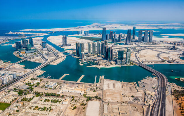 VAE Abu Dhabi Panorama