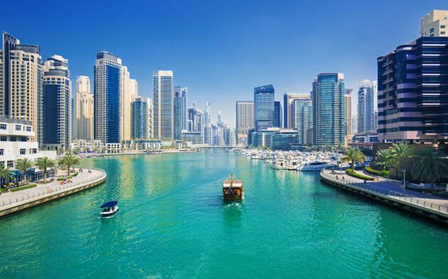 VAE Dubai Luxus Port