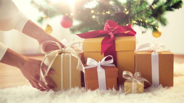 Winter Weihnachten Geschenke Weihnachtsbaum