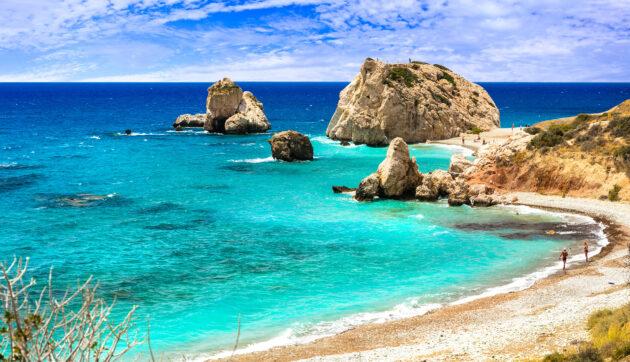 Zypern Strand Abschnitt