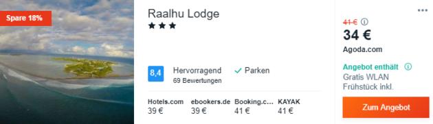 14 Tage Malediven Hotel