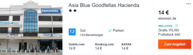 18 Tage Thailand Hotel