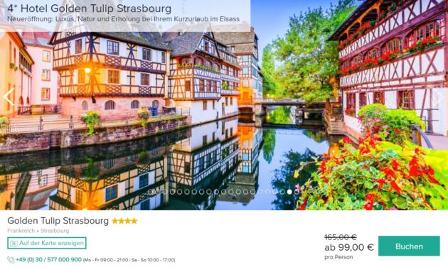 3 Tage Straßburg