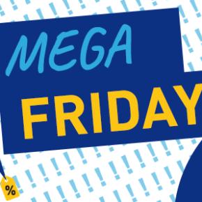 MEGA FRIDAY - Die besten Angebote ab 1€