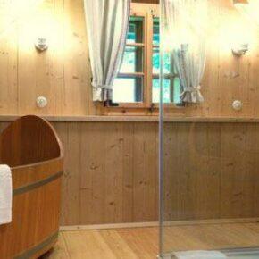 Almdorf Seinerzeit: Hütte Badezimmer