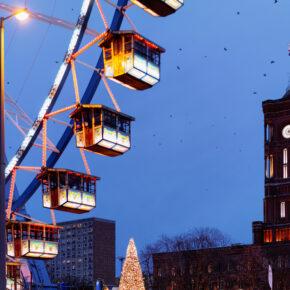 Berlin Weihnachtsmarkt Rotes Rathaus