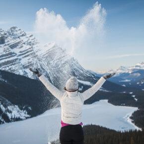 Kanada im Winter: Eisige Temperaturen, Wintersport & Polarlichter
