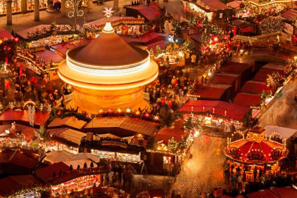 Dresden Weihnachtsmarkt oben