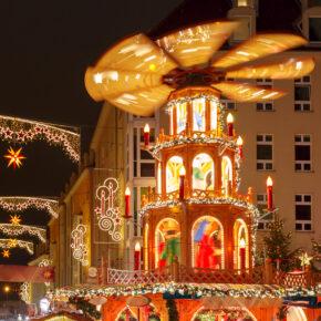 Weihnachtsmarkt in Dresden: 2 Tage übers Wochenende im 3* Hotel mit Frühstück nur 34€