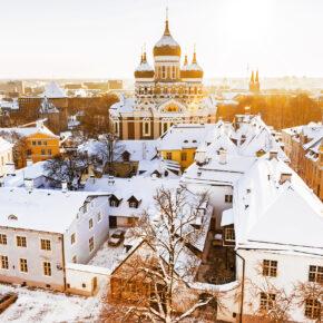 Estlands Winterzauber: 3 Tage Tallinn im 4* Hotel mit Frühstück & Flug nur 59€