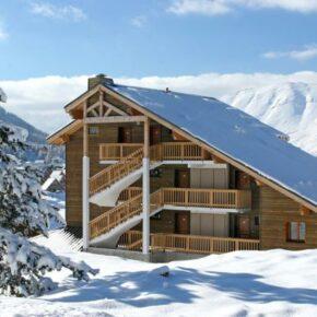 Skiurlaub in Frankreich: 4 Tage mit eigenem 3* Apartment & Skipass nur 37€