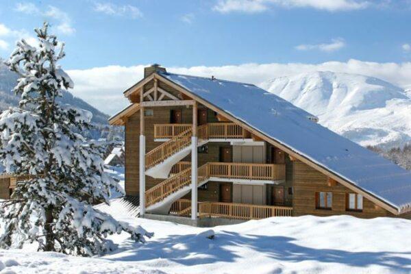 Ferienhaus la crete du berger aussen