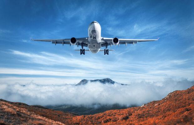 Flugzeug Landschaft