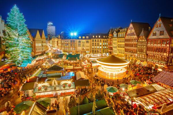 Frankfurt Weihnachtsmarkt Platz