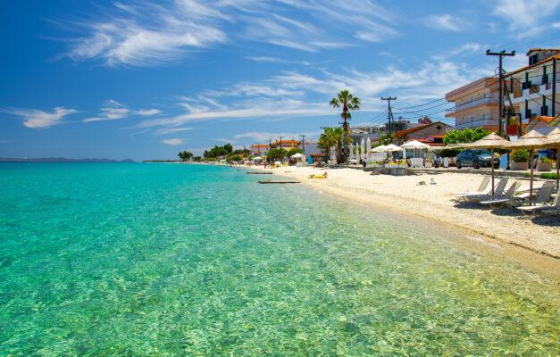 Griechenland Chalkidiki Meer