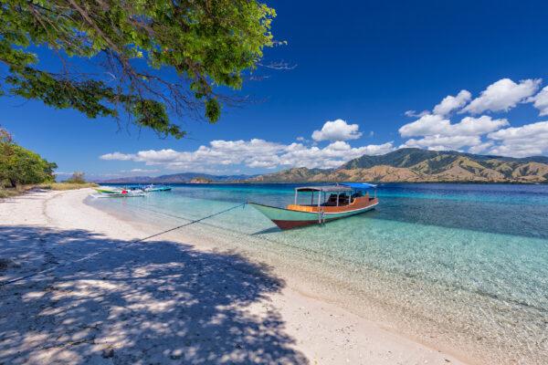 Indonesien Flores Strand
