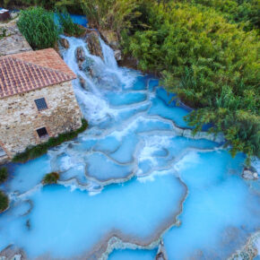 Thermalquellen Toskana: 4 Tage über's Wochenende mit TOP Unterkunft & Flug nur 121€