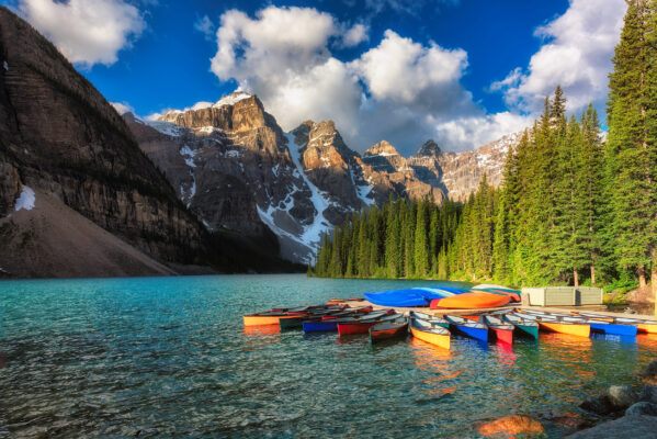 Kanada Moraine Lake See Berge