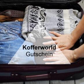 Kofferworld Gutschein: Spart 12% auf Eurer Reisegepäck