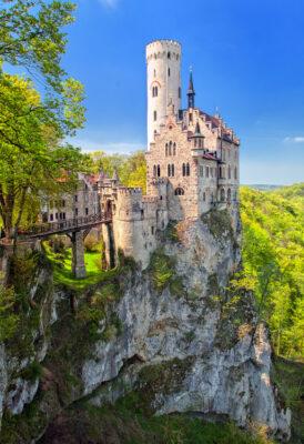 Liechtenstein Schloss Turm