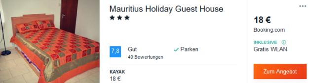 12 Tage Mauritius