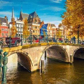 Niederlande übers Wochenende: 2 Tage Amsterdam im TOP 4* Best Western Hotel mit Frühstück nur 39 €