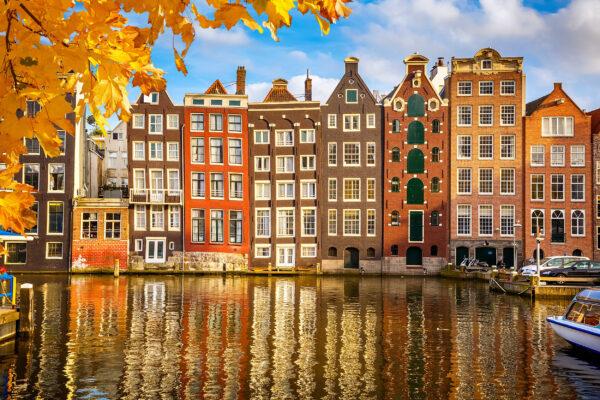 Niederlande Amsterdam Haueser Herbst