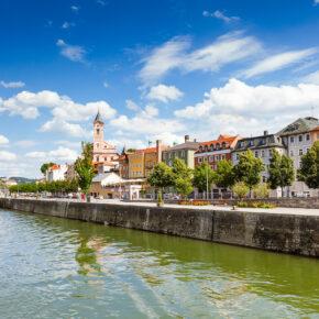 Passau Flussblick