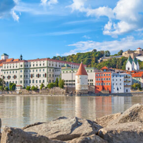 Heimaturlaub in Passau: 3 Tage Kurztrip mit 3* Hotel, Frühstück & Sauna ab 89€
