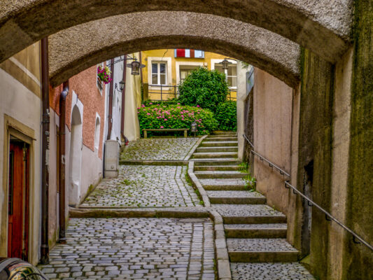 Passau Treppenstufen