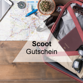 Scoot Gutschein: Spart 25 % auf Euren nächsten Flug