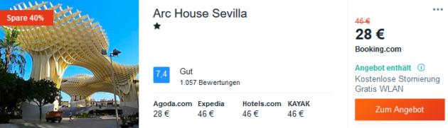 3 Tage Sevilla