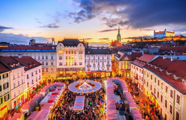 Slowakei Bratislava Historisches Zentrum