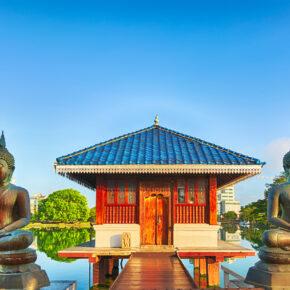 Sri Lanka Seema Malaka Tempel