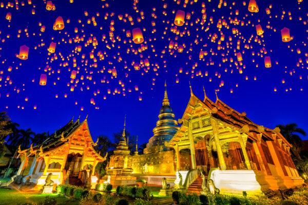 Thailand Chiang Mai Wat Phra Singh