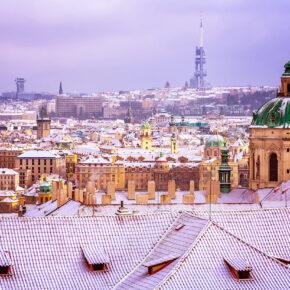 Prag zur Weihnachtszeit: 3 Tage am Wochenende im guten 4* Hotel nur 24€