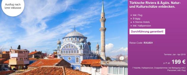 8 Tage Rundreise Türkei