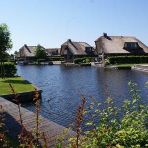 Waterpark Belterwiede Häuser