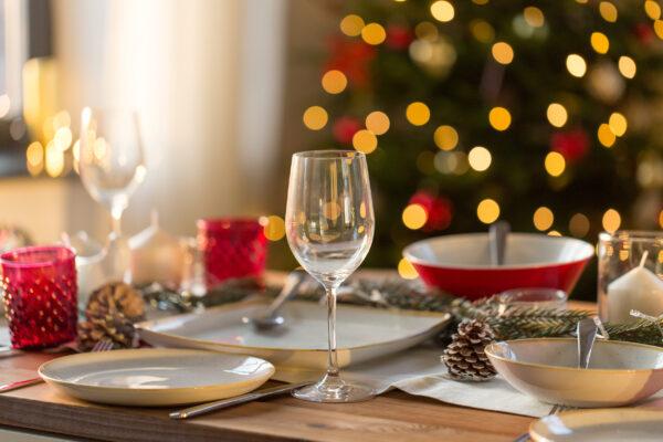 Weihnachten Tisch Deko